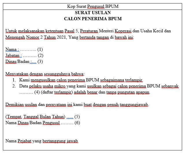 format surat usul bpum